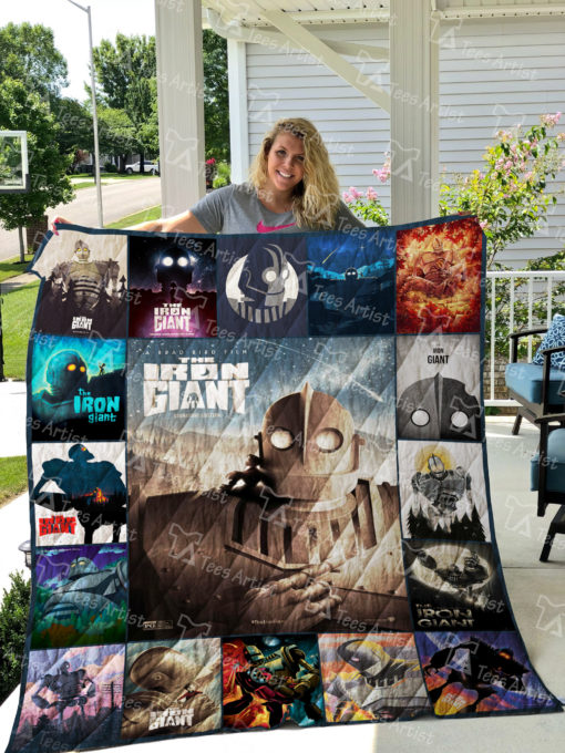The Iron Giant Quilt Blanket 01863