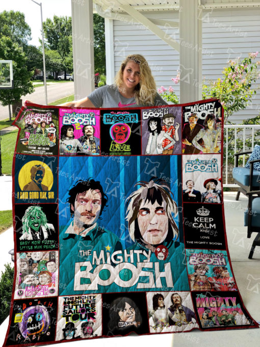 The Mighty Boosh Quilt Blanket 01916