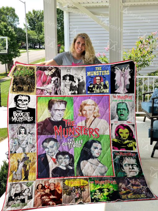 The Munsters Quilt Blanket 01734
