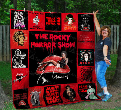 The Rocky Horror Picture Show Quilt Blanket 01689