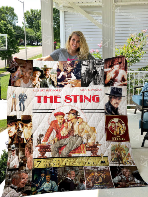 The Sting Quilt Blanket 0914