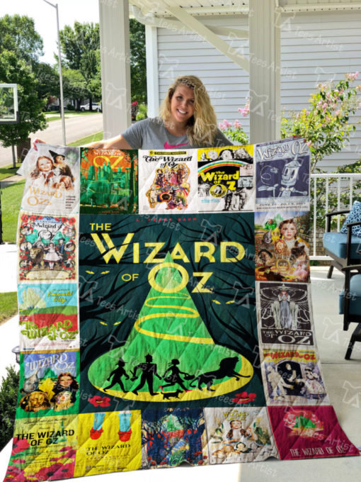 The Wizard Of Oz Quilt Blanket 0666