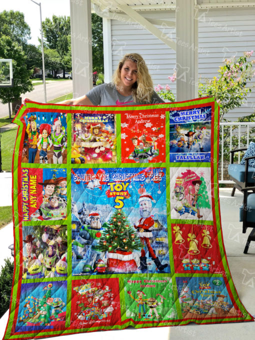 Toy Story Quilt Blanket 01926