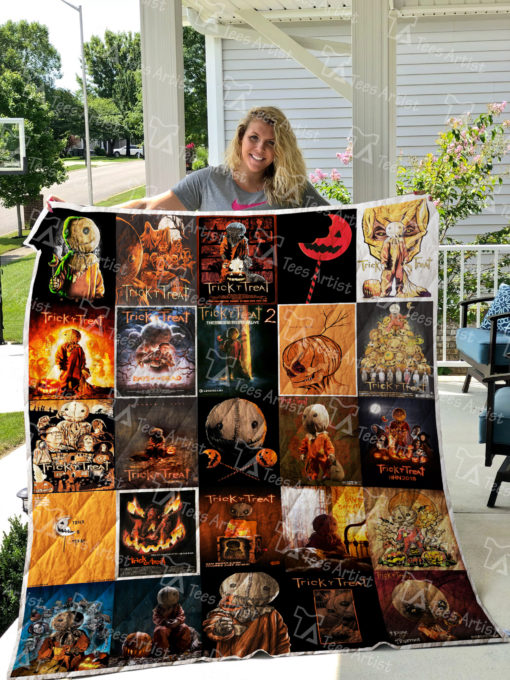 Trick 'r Treat Quilt Blanket 0822