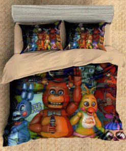 3d Five Nights At Freddys  Duvet Cover Set