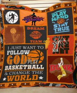 Basketball F1804 84O35 Blanket