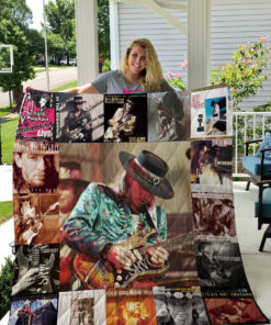 Stevie Ray Vaughan Quilt Blanket