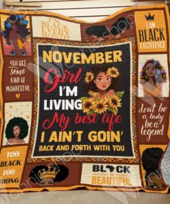 Black Women Blanket OCT1602 77O42