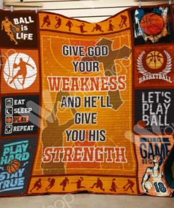 Basketball F2203 84O35 Blanket