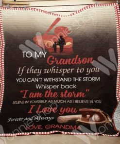 Baseball Grandson Blanket NOV2601 82O33