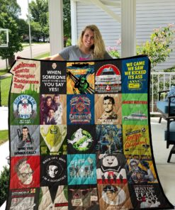 Ghostbusters Poster Quilt