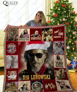 Mofi - The Big Lebowski  Quilt Blanket Ver 2
