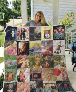 M - Dolly Parton Quilt Blanket For Fans Ver 25