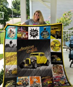 American Graffiti Poster Quilt