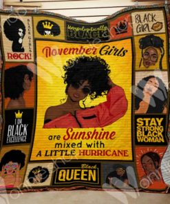 Black Woman Blanket OCT2401 79O39
