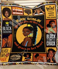 Black Women Blanket OCT2501 70O56