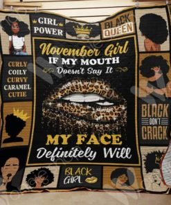 November Black Women Blanket OCT0701 90O47