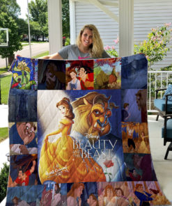 Beauty And The Beast 2 Quilt Blanket
