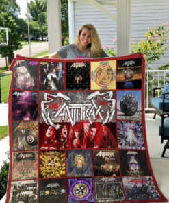 Anthrax Style 2 Quilt Blanket