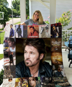 Billy Ray Cyrus Quilt Blanket
