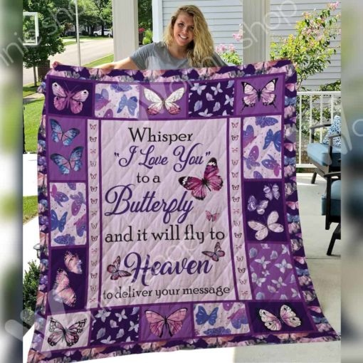 Butterfly Blanket SEP2501 85O58