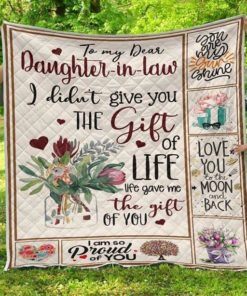 BTT - MOM TO DAUGHTER IN LAW Quilt