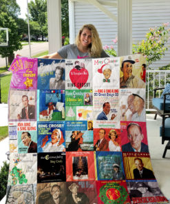 Bing Crosby Quilt Blanket