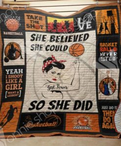 Basketball Girl Blanket AU1003 85O41