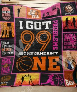 Basketball Girl M2602 85O35 Blanket