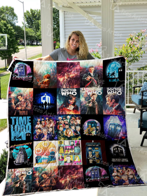 Doctor Who Quilt Blanket 0477