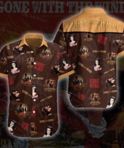 Gone with the wind Hawaii 3D Tshirt 02804