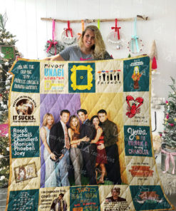 Friends TV show Quilt Blanket 02122