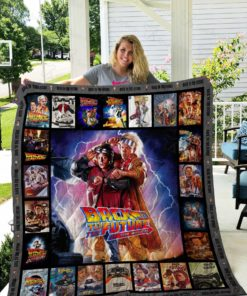 Back to the Future Quilt Blanket 02687