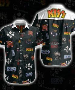 Kiss Band Hawaii 3D Tshirt 02812