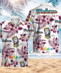 Madonna Hawaii 3D Shirt 1 - L03831