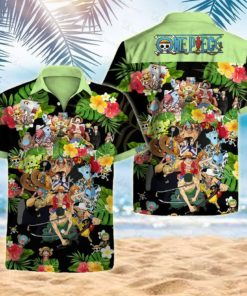 One piece hawaii 3D Shirt